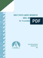 Diccionario Mixteco - Español
