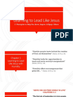 learning to lead like jesus pptx