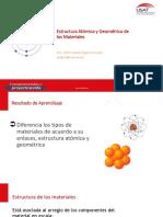 3. Estructura Atómica + Geometría cristalina 2019 parte 1