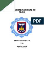 Plan Curricular spicologia