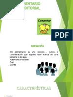 EL COMENTARIO.pptx