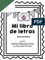 Mi Libro de Letras - Club 100 -Andrea Villanueva