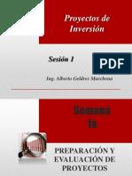 PROYECTOS - Sesión 1