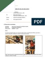 APC-DSL-030 Informe Diario de Actividades 30-08-19