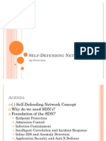 Self Defending Networks