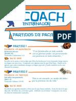 Coach entrenador