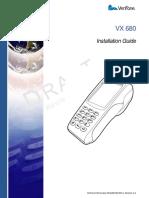 VeriFone DOC268-003-En-C, Revisão C.4 (2011)_Vx680 Installation Guide