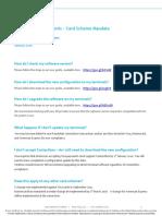 Contactless Floor Limits - FAQ