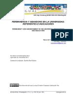Parrino (2016) - Permanencia y Abandono. Referentes e Indicadores
