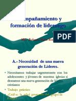 Acompañamiento y  formación de liderazgo Clase 5.ppt