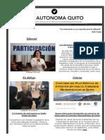 Vía Autónoma N° 8 - Canal informativo del EADMQ