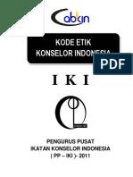 Kode Etik Konselor Indonesia