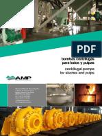 Catalogo Bombas Pulpas Lodos AMP14