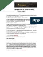 PASO 1 Organizá tu presupuesto financiero .pdf