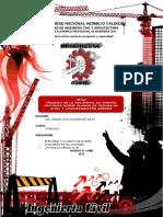 TRAZADO DE LA POLIGONAL DE DISEÑO, ESTUDIOS SOBRE PLANOS DE CURVAS DE NIVEL Y LEVANTAMIENTOS AÉREOS