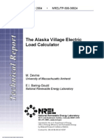 The Alaska Village Electric Load Calculator