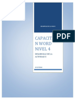 Capacitacion Word Nivel 4