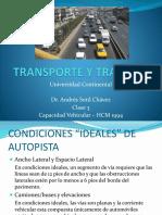 NdS y Capacidad Vehicular