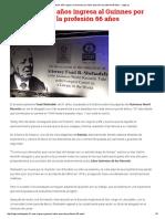Abogado de 91 Años Ingresa Al Guinnes Por Haber Ejercido La Profesión 66 Años - Legis