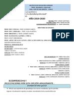 Modulo 2019 y 2020 Inicial - Primario-Artes