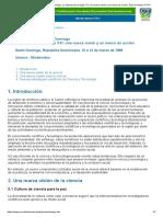 Declaracion de Santo Domingo 1999