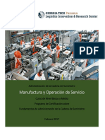 Manufactura y Operaciones Georgia Tech