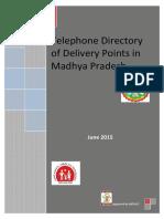 Telephone Directory of Madhyapradesh Govt drs