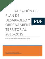 PLAN DE DESARROLLO Y ORDENAMIENTO TERRITORIAL GAD SAN LUCAS