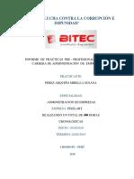 "SEGUNDO INFORME DE PRÁCTICAS PRE PROFESIONALES EN ""PIXELART"""