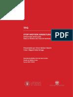 BELLVER - STOP-MOTION ARMATURE. Estructura Articulada Para La Técnica Del Paso de Manivela.