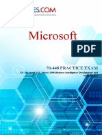 70-448 TS Microsoft SQL Server 2008, Business Intelligence Development and Maintenance