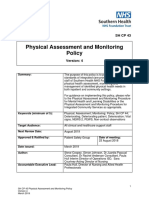 SH CP 43 Physical Assessment and Monitoring Policy V4 4.4.19