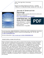 Confronting the Ethics of Qualitative Research - SVEND BRINKMANN and STEINAR KVALE