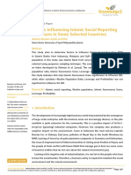 Factors Influencing Islamic Social Reporting