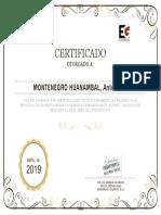 MODELO DE CERTIFICADO CAPACITACIÓN OPERADOR DE MAQUINARIA