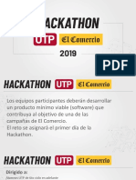 Hackathon Utp El Comercio Bases Final