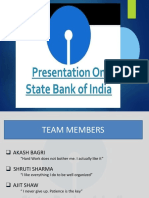 Presentation on SBI