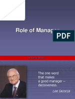 Manager Function