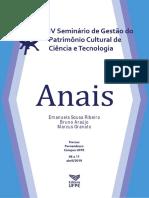 2019 - Anais IV Sgpcct Fiocruz e Ufpe