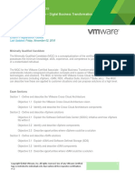 Vmw Vca Dbt Exam 1v0 701 Guide