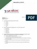 Simulacro banco de preguntas RESIDENTADO MEDICO - Con Claves