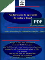 Fundamentos operación motores diésel
