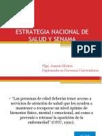 Clase 3. Estrategia Nacional de Salud y Senama 2019