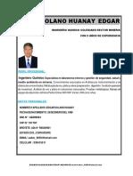 c.v Solano Huanay Edgar 2019