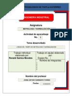 LINEA DEL TIEMPO DE LA METROLOGÍA