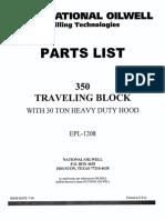 Oilwell 350 Hd Partslist