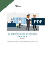 Resumen La Administración de Recursos Humanos