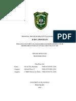 Proposal Penelitian Pkm-p Devin, Tengku, Reza