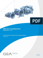 GEA SCREW COMPRESSORS