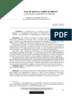 Cooperativas de Ahorro y Crédito en México_Martha E. Izquierdo
